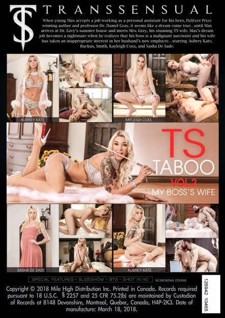 Dana Vespoli - TS Taboo #2: My Boss Wife [SD] ( 2019 / 1,18 Gb)
