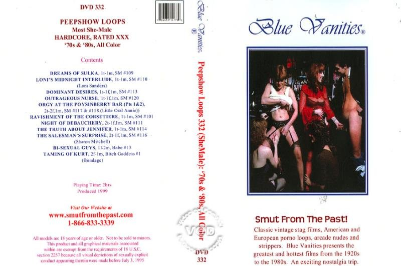 Loni Sanders, Gypsy Rose, Larry Shipps, Jennifer Thomas, Naughty Niko - Peepshow Loops 332: / Most She-Male Hardcore Rated X 70s  80s [SD] ( 2019 / 1 Gb)