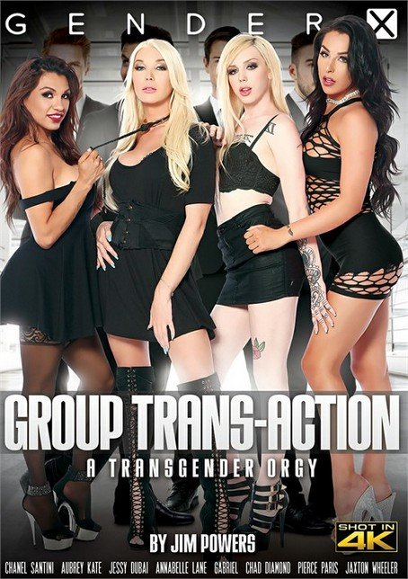 Chanel Santini, Jessy Dubai, Annabelle Lane, Aubrey Kate, Jaxton Wheeler, Chad Diamond, Gabriel - Group Trans-Action [SD] ( 2019 / 1.6 Gb)