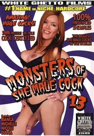 Bianca, Michelle, Nicole, Diana - Monsters Of She Male Cock 13 [SD] ( 2019 / 1.01 Gb)