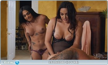 Eva Maxim, Zoey Foxx, Riley Mitchel - Stuffing the Curious Boyfriend [SD] ( 2019 / 505.82 Mb)