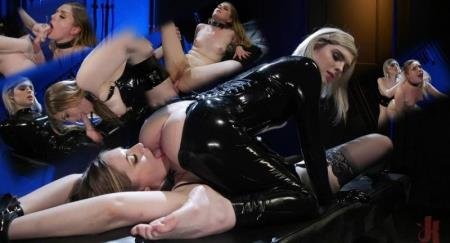 Ella Hollywood, Dresden - Greedy Latex Slut: Ella Hollywood Fucks Dresden's Pussy and Ass [SD] ( 2019 / 666.18 Mb)