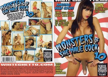 Ana, Loly, Triany, Vanucchi - Monsters Of She-Male Cock 10 [HD] ( 2019 / 1.49 Gb)