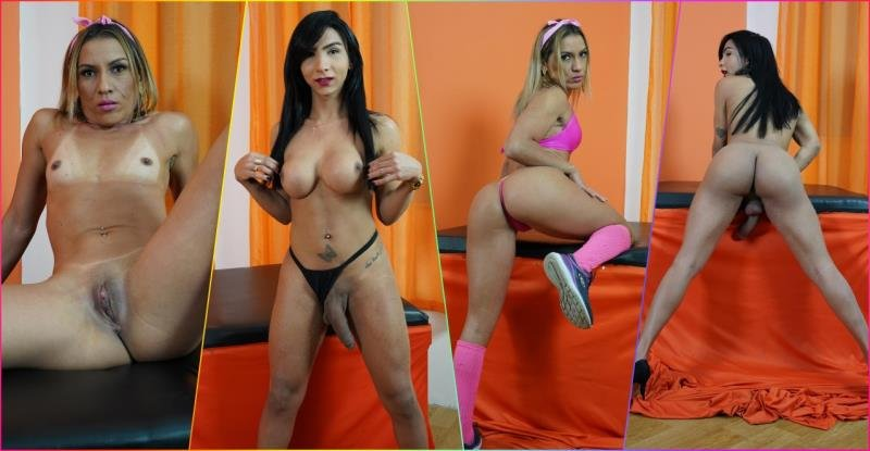 Yasmine Dornelles, Sol Soares - Tight Latina Ass Stretched By Tgirl Cock [FullHD] ( 2020 / 1.2 Gb)