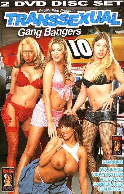 Tom Moore, Vo D'Balm, Ava Devine, Carmen Cruz, Vicky Richter - Transsexual Gang Bangers 10 [SD] ( 2020 / 699.16 Mb)